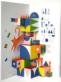 Playful creations by Louis Rigaud Paper Pop, Diy Paper, Paper Crafts, Foam Crafts, Arte Pop Up, Pop Up Art, Atelier Theme, Buch Design, Paper Engineering
