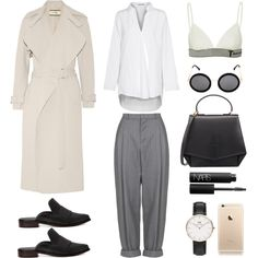 Dandy Minimalist by fashionlandscape on Polyvore featuring Mode, Acne Studios, By Malene Birger, Boutique, T By Alexander Wang, TIBI, Byredo, Daniel Wellington, The Row and NARS Cosmetics