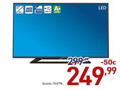 tuttoeantitutto: OFFERTA EURONICS: PHILIPS TV LED HD 32PHT4100 (SPE...