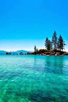 Lake Tahoe, California, the coldest lake I have ever been in but oh so GORGEOUS!