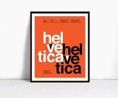 Suisse Swiss Helvetica Type Specimen Print by MackenzieDesign, $17.99