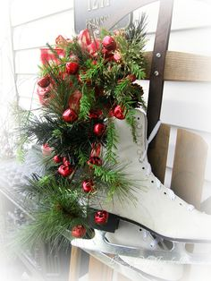 Lynne's Gifts From the Heart: ~Decorating the Back Door For Guests ~