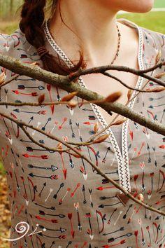 DSC_5504-kl Crochet Necklace, Jewelry, Arrow, Thoughts, Jewlery, Jewerly, Schmuck, Jewels, Jewelery
