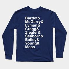 West Wing Family Long Sleeve T-Shirt
