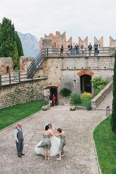 Fairytale Castle Wedding in Malcesine, Lake Garda, Italy: Katie & David see more at http://www.wantthatwedding.co.uk/2014/12/04/fairytale-castle-wedding-in-malcesine-lake-garda-italy-katie-david/