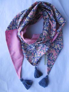 Chèche ou Foulard liberty Tatum lavande   rose Lavande, Cadeaux Faits Main,  Des Vêtements 31b149c5e38