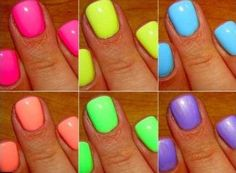 Smalti Fluo Nail Polish