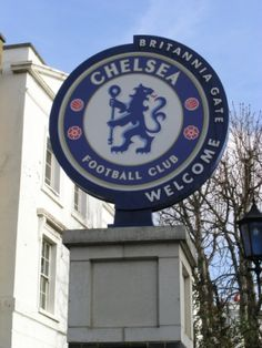 Entrance to FC Chelsea