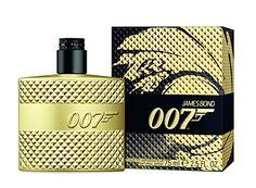 James Bond Eau De Toilette Spray limited Edition, Gold, 2.5 Ounce