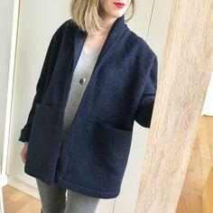 I Am Patterns, Artemis jacket I Am Patterns, Artemis, Wool Coat, Clothing Patterns, Blazer, Sewing, Sweaters, Jackets, Clothes