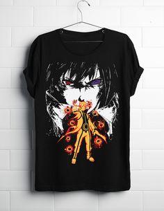 Naruto And Sasuke Anime Shirt @ ComicSense