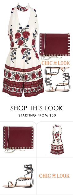 """Chiclookcloset 14"" by emilypondng ❤ liked on Polyvore featuring Valentino and chiclookcloset"