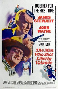 The Man Who Shot Liberty Valance (El hombre que mató a Liberty Valance). John Ford, 1962. Estados Unidos