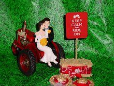Tractor Farm County Outdoor Rustic Couple on by splendorlocity