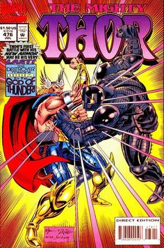 Cover for Thor #476 (Marvel, July1994) #476
