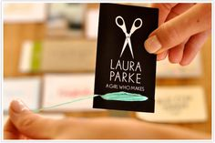 Oh such a clever business card!