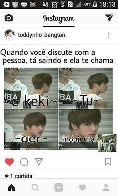 Read memes from the story Dicionário do Kpop by (𝘵𝘩𝘢𝘯𝘬𝘴) with reads. Bts Memes, Bts Bangtan Boy, Bts Jimin, K Pop, Derp, Funny Moments, Bulletproof Boy Scouts, Boy Groups, Humor