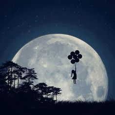 Voando para a lua