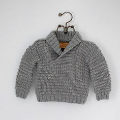 Note: Love Knitting magazine includes only the sweater in sizes newborn to 3 years.