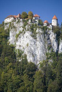 Bled Castle, Lake Bled, Slovenia