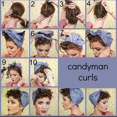 Candyman curls