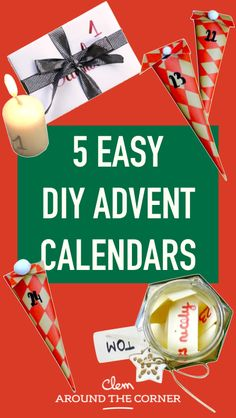 5 easy diy advent calendars to do before christmas do it yourself creaye your own advent calendars xmas decorating ideas xmas do-it-yourself advent calendar diy tutorial original and economical ideas easy for children to wait for christmas manual activity Xmas Crafts, Fun Crafts, Before Christmas, Christmas Diy, Holiday, Calendrier Diy, Diy Hanging Shelves, Diy Advent Calendar, Do It Yourself Crafts