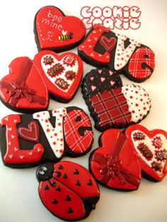 Heart & Love Cookies
