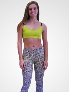 Om Shanti Clothing - Sapphires and Diamonds Legging