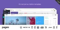 Pages v1.0 - Admin Dashboard Template / Web App  -  http://themekeeper.com/item/site-templates/pages-admin-dashboard-template-web-app