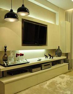 Arquitetos de interiores bolam novas e originais maneiras de instalar TVs em um ambiente - Portal Marketing e Publicidade Imobiliária