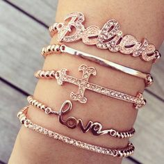 FASHION — Bracelets | via Tumblr