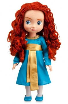 merida baby doll. One of the few dolls based on cartoon characters that is actually accurate! I want it!