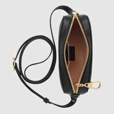 Image 2 of Gucci Ophidia Mini Leather Crossbody Bag Gucci Store, Retro Design, Black Patent Leather, Mini Bag, Leather Crossbody Bag, Fashion Bags, Dust Bag, Shoulder Strap, Burgundy