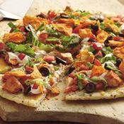 Grilled Hot & Spicy Orange Chicken Pizza recipe from Betty Crocker