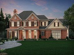 086H-0094: Traditional Luxury House Plan