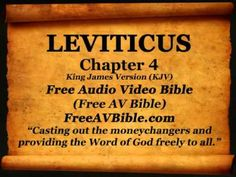 #03. Leviticus Complete Bible Book 1-27 King James Version KJV N2 – Free Audio Video Bible - YouTube