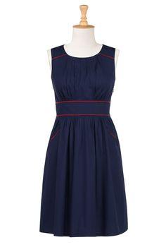 LOVE IT!   http://www.eshakti.com/Product/CL0023077/Color-trim-poplin-dress