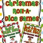 These are fun dice games that you can add to your Math stations or small groups! Students take turns rolling the dice to create a Santa Bear and Mr...