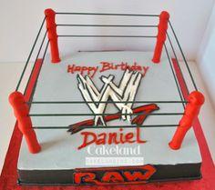 41.Wrestling ring