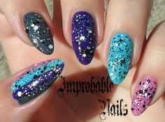"""Improbable Nails: Swatch: MAYBELLINE color show polka dots 197 """"CHALK DUST"""""""