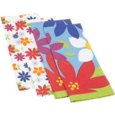 DII Carnival Flowers Print Kitchen Towel, Set of 4, $18.48 & eligible for FREE Super Saver Shipping
