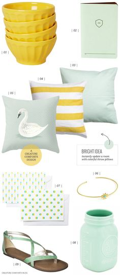 Color Crush: Pineapple and Mint