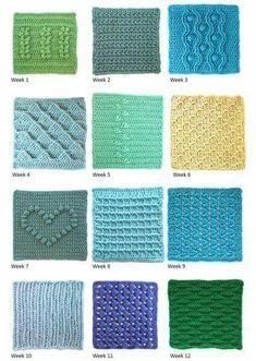 New Crochet Rug Boy Ideas Ideas Granny Square - Diy Crafts Crochet Square Blanket, Crochet Square Patterns, Crochet Squares, Crochet Granny, Crochet Blanket Patterns, Baby Blanket Crochet, Crochet Motif, Crochet Stitches, Crochet Hooks