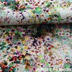 Hilco Inkjet jersey fabric Fleur Sabons - Digital print fabrics