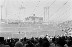 San Francisco: opening day at Candlestick 1960