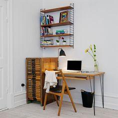 DIY modern furniture for home office scandi scandinavian style reclaimed Home Office, Modern Furniture, Furniture Design, Anna, Scandinavian Interior Design, Scandinavian Style, Workspace Inspiration, Workspace Design, Dream Rooms