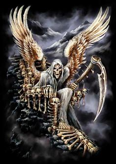 Tattoo inspiration... Grim Reaper