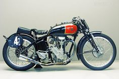 vintage motorcycles | most vintage motorcycles look spindly and fragile others look bulbous ...