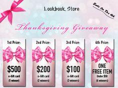 lookbookstore giveaway :) i hope, that i win something #lookbookstore #giveaway
