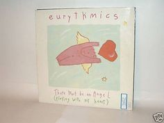 EURYTHMICS - There Must Be An Angel 12 MAXI Vinyl